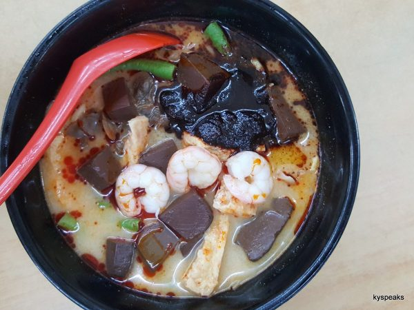 glorious Kuantan Road curry mee