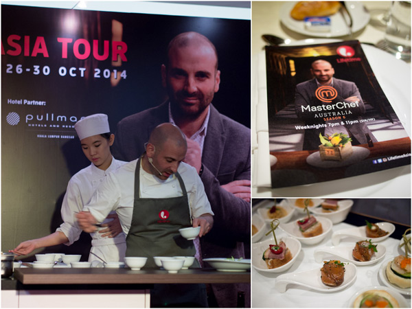 MasterChef Australia Judge George Calombaris in KL