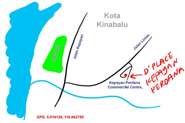 D'Place Kadazan food map