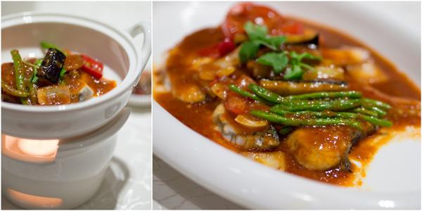 Steamed Seabass in Assam Sauce