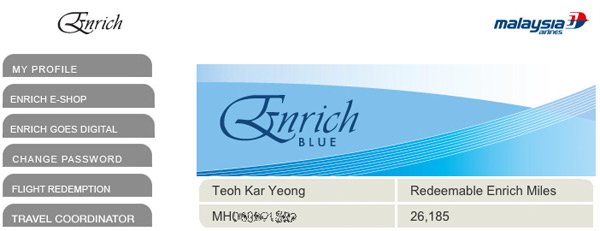 Enrich Blue screenshot
