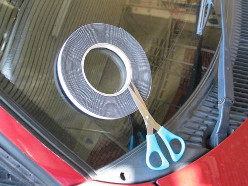 fixing the noisy side mirror