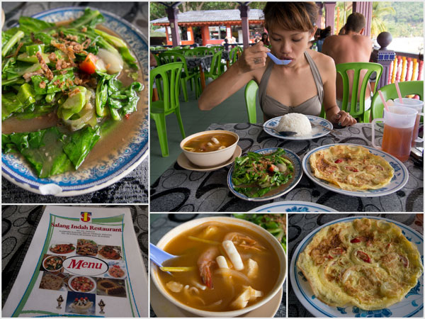 Salang Indah Restaurant, tomyam, traditional Malay food, and more