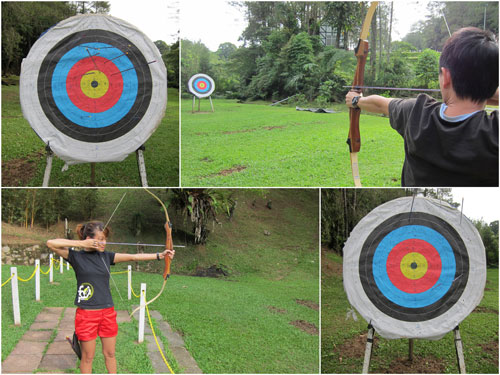 archery for only RM 8 for 10 arrows