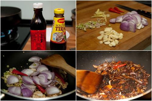 ingredients for friedd ma yau fish