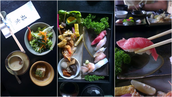 Wa-Sushi bento
