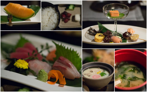 sashimi set, RM 110++, dinner