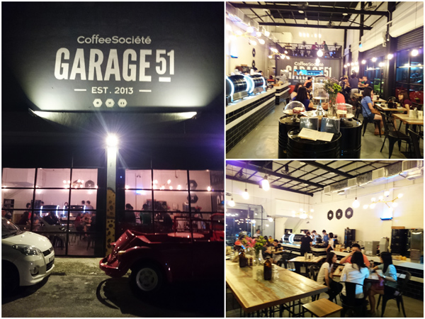 Garage 51, opposite Sunway University side entrance