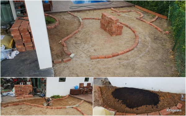 using red bricks to confirm our design