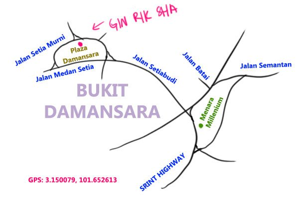 map to gin rik sha