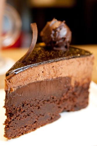 super yummy Godiva chocolate cake