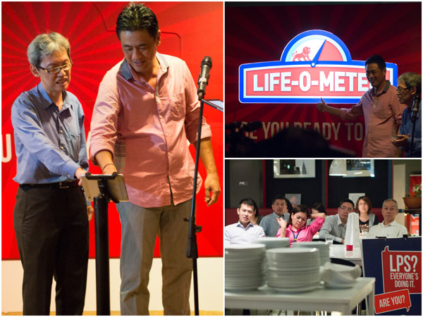 Dato Koh Yaw Hui launched the Life-O-Meter application