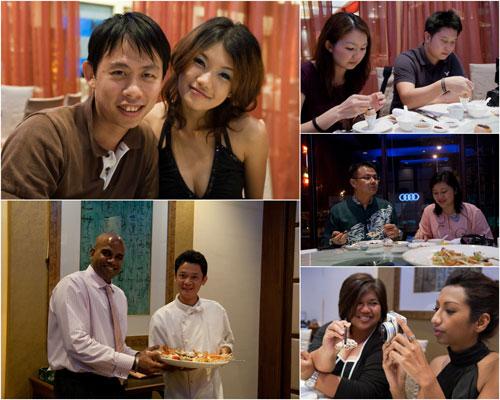 KY & Haze, Bald Eagle & Chef Frankie, Mei Yee & Lionel, KK & BabeKL, Meena & Alison