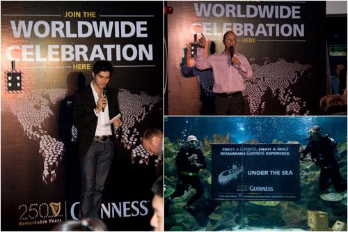 Guinness 250 anniversary Aquaria