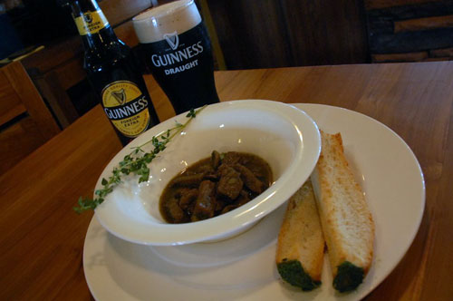 Guinness inspired food