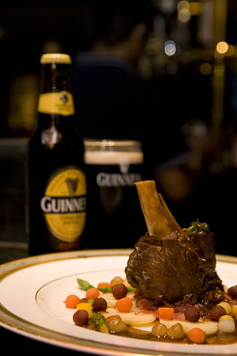 Guinness lamb shank at Nikko Hotel, KL