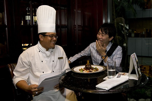 KY and chef at Nikko Hotel