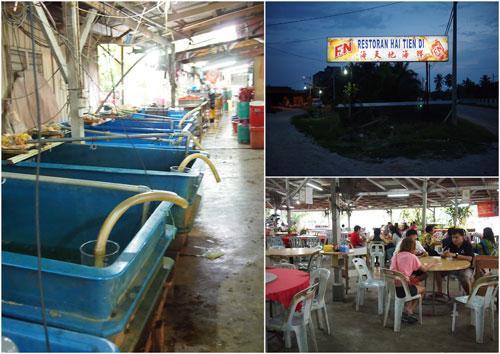 Hai Tien Di Seafood Restaurant, Sitiawan
