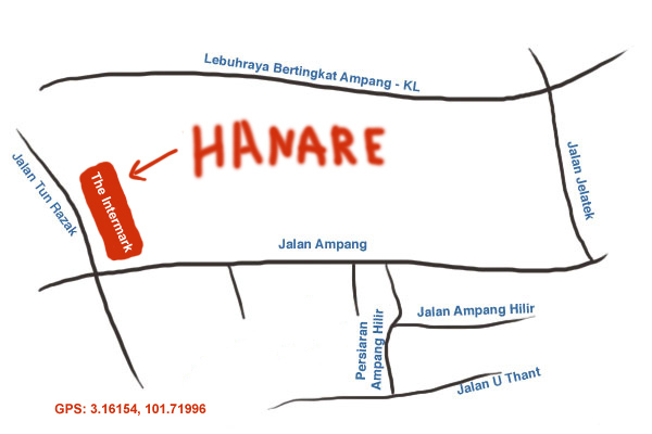 map to The Intermark
