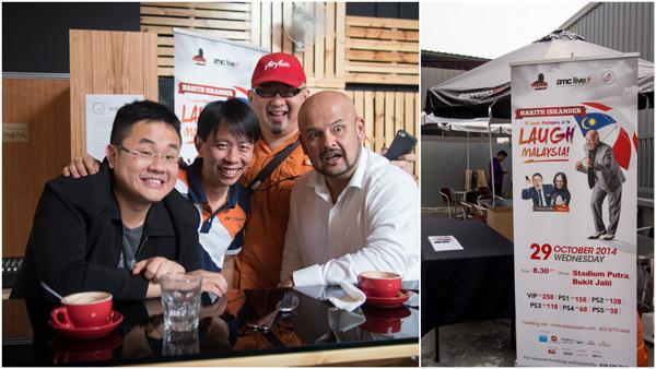 Jason Leong, KY, Jason C, and Harith Iskandar