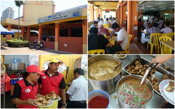 Hassan Ayam Kampung at R&R Awan Besar, Lebuhraya Shah Alam