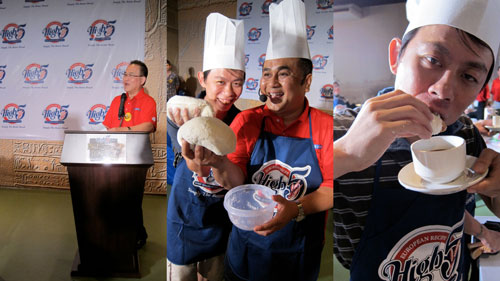"Dato Jackson Tan, KY & Chef Ismail, ""cicah"