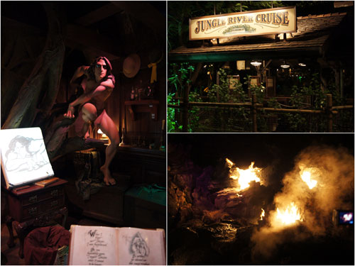 Tarzen's Treehouse and Jungle River Cruise