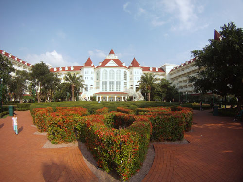 the beautiful Disneyland Hotel