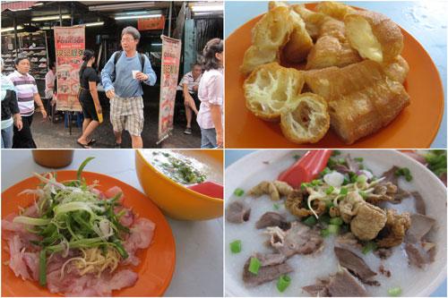 Hon Kee famous porridge at Petaling Street