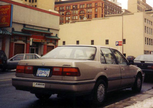 honda accord, 1987