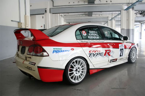 honda civic type-R FD2