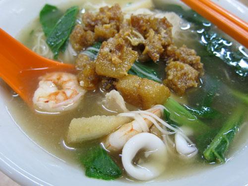 seafood noodle with lotsa lard!