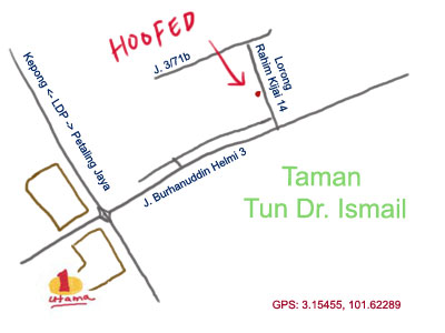 map to hoofed at ttdi