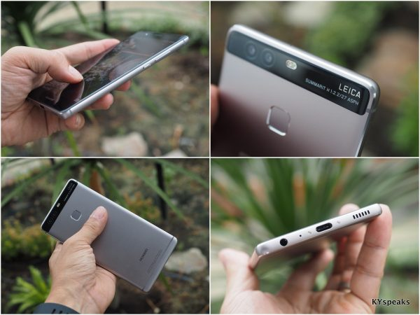 Huawei P9, sleek design, USB C, Leica dual lenses