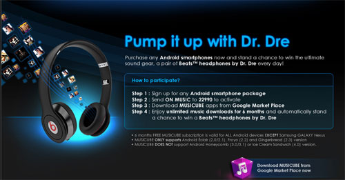 win beats headphone from celcom
