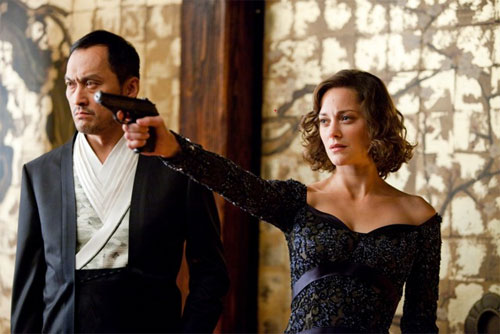 Ken Watanabe and Marion Cotillard in Inception