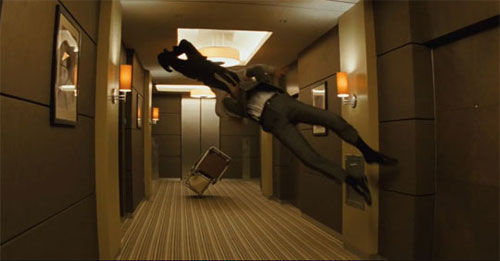Gordon-Levitt in Inception