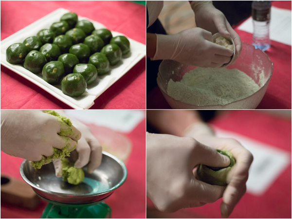 ingredients and method of making mooncake