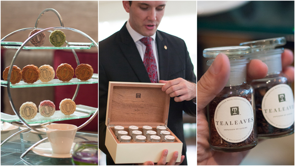 mooncake tray, and pick your own tea at Intercontinental KL