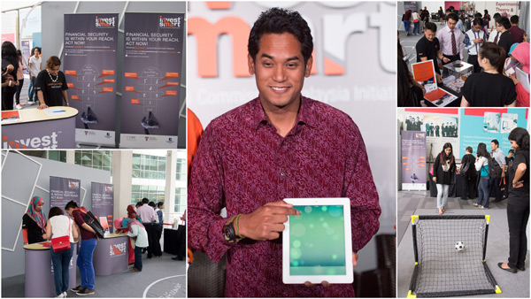 InvestSmart launched by YB Khairy Jamaluddin, Minister of Youth & Sports