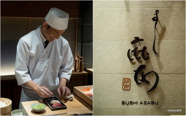 Cher Saito, Sushi Azabu at Isetan The Japan Store KL