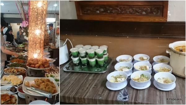 laksa, sago gula melaka, and more