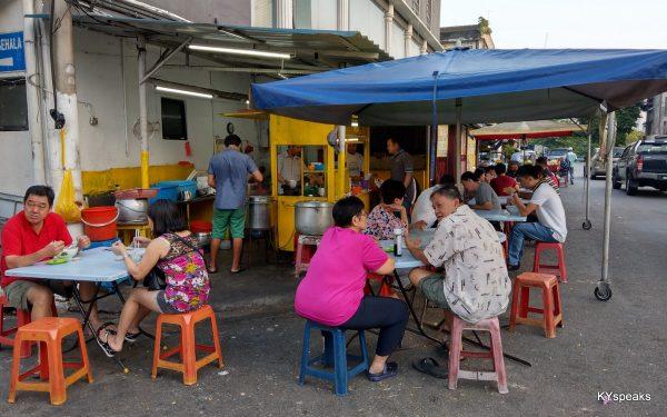 Jalan Seladang off Jalan Pasar, next to RHB