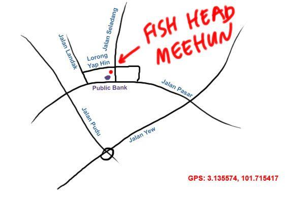 jalan pasar fish head meehun map