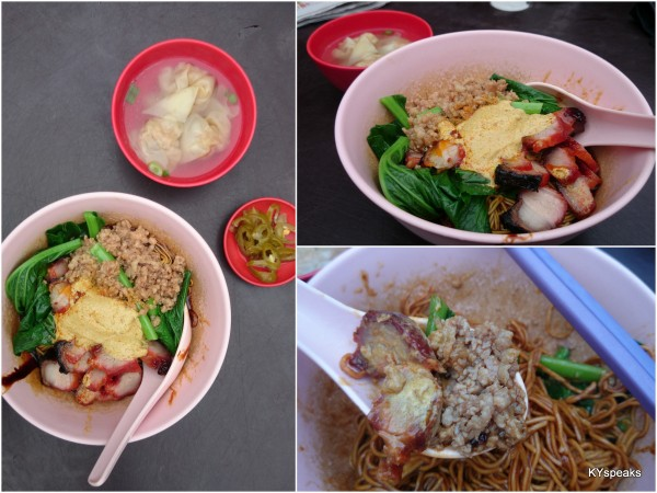 a bit of curry gives this version of wantan mee a good kick