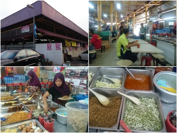 Nasi Kerabu at Medan Selera Semarak