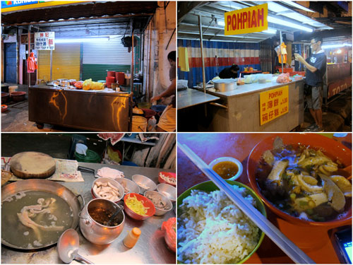 hawker stalls at Jalan Peel, Cheras