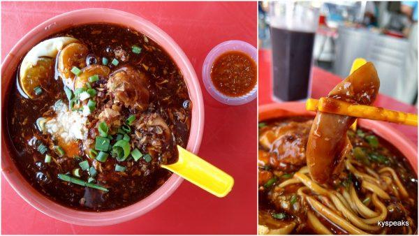 proper Penang style loh mee, Johny's