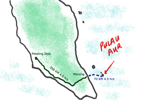 Journey to Pulau Aur