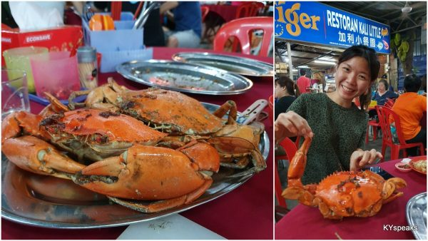 crabs, these were just medium size ones